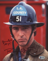 """Randolph Mantooth Signed """"Emergency!"""" 8x10 Photo Inscribed """"Squads 10-4!"""" (Beckett COA) at PristineAuction.com"""