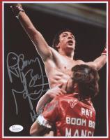 "Ray ""Boom Boom"" Mancini Signed 8x10 Photo Inscribed ""HOF 2015"" (JSA COA) at PristineAuction.com"