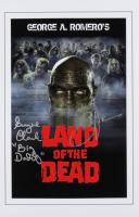 """Eugene Clark & Greg Nicotero Signed """"Land of the Dead"""" 11x17 Photo Inscribed """"Big Daddy"""" (JSA COA) at PristineAuction.com"""