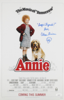 """Aileen Quinn Signed """"Annie"""" 11x17 Movie Poster Print With Hand-Drawn Sketch Inscribed """"Leapin Lizaerds!"""" & """"Love"""" (JSA COA) at PristineAuction.com"""