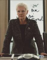 "Judi Dench Signed ""James Bond"" 8x10 Photo (Beckett COA) at PristineAuction.com"
