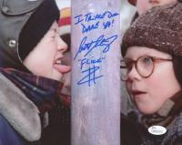 "Scott Schwartz Signed ""A Christmas Story"" 8x10 Photo Inscribed ""I Triple Dog Dare Ya!"" & ""Flick"" (JSA COA) at PristineAuction.com"