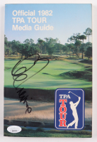 Lee Trevino Signed Official 1982 TPA Tour Media Guide (JSA COA) at PristineAuction.com