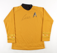 "William Shatner Signed ""Star Trek"" Uniform Shirt (JSA COA) at PristineAuction.com"