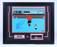 """Mike Tyson Signed """"Punch-Out!!!"""" 18x22 Custom Framed Photo Display with Nintendo Controller (Tyson Hologram) at PristineAuction.com"""