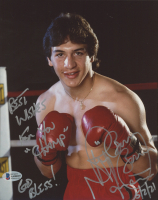 """Ray """"Boom Boom"""" Mancini Signed 8x10 Photo Inscribed """"Best Wishes for You Champ"""", """"God Bless!"""" & """"5/2/21"""" (Beckett COA) at PristineAuction.com"""