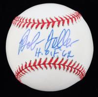 "Bob Feller Signed OAL Baseball Inscribed ""H.O.F. '62"" (JSA COA) (See Description) at PristineAuction.com"