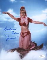 "Barbara Eden Signed ""I Dream of Jeannie"" 8x10 Photo Inscribed ""Jeannie"" (JSA COA) at PristineAuction.com"