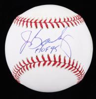 "Jerry Bailey Signed OML Baseball Inscribed ""HOF 95"" (JSA COA) (See Description) at PristineAuction.com"