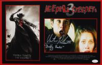 """Chester Rushing Signed """"Jeepers Creepers 3"""" 11x17 Photo Inscribed """"Buddy Hooks"""" (JSA COA) at PristineAuction.com"""