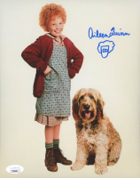 """Aileen Quinn Signed """"Annie"""" 8x10 Photo (JSA COA) at PristineAuction.com"""