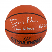 """Gary Payton Signed NBA Game Silver Series Basketball Inscribed """"The Glove"""" & """"HOF 2013"""" (Beckett Hologram) at PristineAuction.com"""