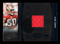 Jerry Rice 2006 Absolute Memorabilia Tools of the Trade Material Blue #76 #36/50 at PristineAuction.com