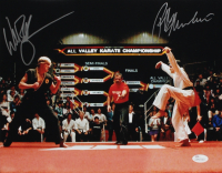"Ralph Macchio & William Zabka Signed ""The Karate Kid"" 11x14 Photo (JSA COA) at PristineAuction.com"