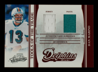Dan Marino 2006 Absolute Memorabilia Tools of the Trade Material Double Red #37 #59/100 at PristineAuction.com
