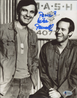 """Mike Farrell Signed """"MASH"""" 8x10 Photo Inscribed """"Peace!"""" (Beckett COA) at PristineAuction.com"""