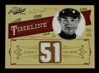 Ichiro Suzuki 2012 Prime Cuts Timeline Jersey Number #23 #13/51 at PristineAuction.com