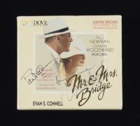 "Paul Newman & Joanne Woodward Signed LE ""Mr. & Mrs. Bridge"" CD Album Audiobook Set (Beckett LOA) (See Description) at PristineAuction.com"