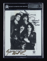 Black Sabbath 8x10 Photo Signed by Ronny James Dio, Geezer Butler, Tony Iommi & Vinny Appice (BGS Encapsulated) at PristineAuction.com