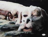 "Alan Oppenheimer & Noah Hathaway Signed ""The NeverEnding Story"" 11x14 Photo Inscribed ""Falkor"" & ""Atreyu"" (JSA COA) at PristineAuction.com"