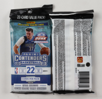 2020/21 Panini Contenders Basketball Jumbo Value Pack Box (12 Ct.) at PristineAuction.com