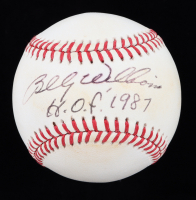 """Billy Williams Signed ONL Baseball Inscribed """"H.O.F. 1987"""" (JSA COA) at PristineAuction.com"""