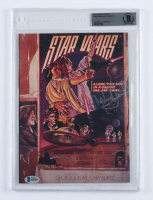 """Mark Hamill & Alec Guiness Signed """"Star Wars"""" Magazine Photo (BGS Encapsulated) at PristineAuction.com"""