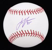 Justin Verlander Signed OML Baseball (JSA COA) at PristineAuction.com