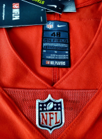 Patrick Mahomes Signed 34x42 Custom Framed Nike Elite On-Field Style Jersey Display with LED Lights (Fanatics Hologram) at PristineAuction.com