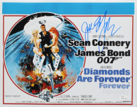 "Jill St. John Signed ""Diamonds Are Forever"" 11x14 Movie Poster (JSA COA) at PristineAuction.com"
