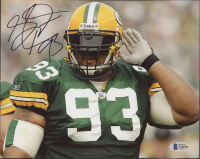 Gilbert Brown Signed Packers 8x10 Photo (Beckett COA) at PristineAuction.com