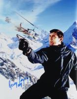"George Lazenby Signed ""On Her Majesty's Secret Service"" 11x14 Photo Inscribed ""007"" (JSA COA) at PristineAuction.com"