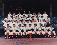 1986 Tigers 16x20 Photo Team-Signed by (25) with Denny McLain, Mickey Lolich, Bill Freeham, Elroy Face With Multiple Inscriptions (JSA ALOA) (See Description) at PristineAuction.com