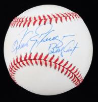 """Andres Galarraga Signed ONL Baseball Inscribed """"Big Cat"""" (JSA COA) (See Description) at PristineAuction.com"""