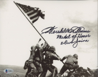 """Hershel W. Williams Signed WWII 8x10 Photo Inscribed """"Medal of Honor Iwo Jima"""" (Beckett COA) at PristineAuction.com"""