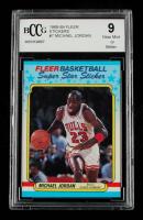 Michael Jordan 1988-89 Fleer Stickers #7 (BCCG 9) at PristineAuction.com