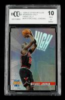 Michael Jordan 1996-97 Stadium Club High Risers #HR14 (BCCG 10) at PristineAuction.com