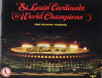 "Bob Gibson Signed ""St. Louis Cardinals '67 World Champions"" Souvenir Book (JSA COA) at PristineAuction.com"