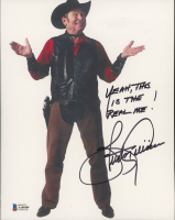 """Burton Gilliam Signed """"Blazing Saddles"""" 8x10 Photo Inscribed """"Yeah, This is the Real Me!"""" (Beckett COA) at PristineAuction.com"""