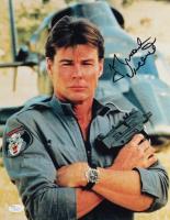 "Jan-Michael Vincent Signed ""Airwolf"" 11x14 Photo (JSA COA) at PristineAuction.com"