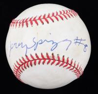 Jerry Springer Signed OAL Baseball (JSA COA) (See Description) at PristineAuction.com