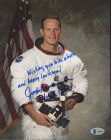"""Jack Lousma Signed 8x10 Photo Inscribed """"Wishing You Blue Skies and Happy Landings! Skylab II STS-3"""" (Beckett COA) at PristineAuction.com"""