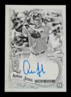 Aaron Judge 2017 Topps Gypsy Queen Autographs Black and White #GQAAJ #73/99 at PristineAuction.com