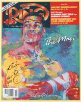 "Riddick Bowe Signed ""The Ring"" 16x20 Photo Inscribed ""HOF 2015"" (JSA Hologram) (See Description) at PristineAuction.com"