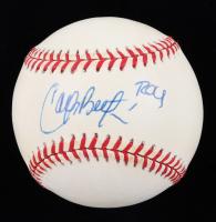 "Carlos Beltran Signed OAL Baseball Inscribed ""ROY"" (JSA COA) at PristineAuction.com"