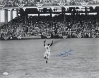"""Duke Snider Signed Dodgers 16x20 Photo Inscribed """"HOF 80"""" (JSA COA) at PristineAuction.com"""