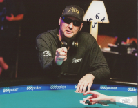 Phil Hellmuth Signed 8x10 Photo (JSA COA) at PristineAuction.com