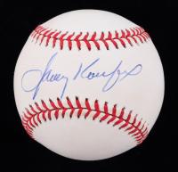 Sandy Koufax Signed ONL Baseball (JSA ALOA) (See Description) at PristineAuction.com