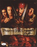 """Jerry Bruckheimer Signed """"Pirates of the Caribbean: Curse of the Black Pearl"""" 8x10 Photo (JSA COA) at PristineAuction.com"""