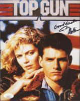 "Jerry Bruckheimer Signed ""Top Gun"" 8x10 Photo Inscribed ""Good Luck"" (JSA COA) at PristineAuction.com"